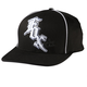 Midnight Black/White Flex-Fit Hat