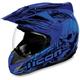 Blue Variant Etched Helmet