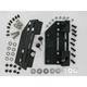Quick-Release Detachable Saddlebag Mount System for Models w/HD Hardmount or Aftermarket Backrest - 5304