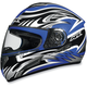 FX-100 Blue Multi Helmet