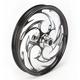 Black 21 x 2.15 Savage Eclipse One-Piece Wheel - 21215-9903-85E
