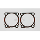 Cylinder Base .10 in. Rubber Coated Metal Gasket w/Bead - 16774-96-XT2