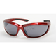 Red Safety C-115 Sunglasses w/Smoke Lens - C-115RED/SM