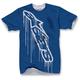 Blue Overspray T-Shirt