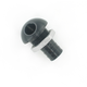 Black 45 Degree Billet Bilge Fitting for 500 GPH Bilge Pump Systems - 5058