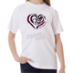 Childs White Heart T-Shirt