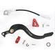 Brake Pedal w/Red Tip - 1610-0337
