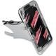 Swingarm Vertical Side-Mount Chrome License Plate - LPF121-VC