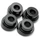 Black 10° Angle Handlebar Riser Adaptors - LA-7400-10B
