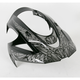 Black/Gray Visor for Icon Alliance Speedmetal Helmets - 0132-0551