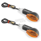 Carbon Oval Mini Stalk Marker Lights - 266018