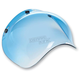 Blue Gradient 3-Snap Bubble Shield - BV-BLU-00-GR