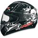 FX-100 Black Skulls Helmet