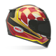 Red/Bronze/Black Airtrix Speedway RS-1 Helmet - Convertible To Snow