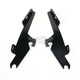 Night Shades Black No-Tool Trigger-Lock Hardware Kit to Change from Sportshield to Fats/Slim - Plates Only - MEB8880