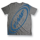 Gray Spaced T-Shirt