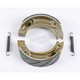 Sintered Metal Grooved Brake Shoes - 323G