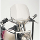 Clear Windshield for Custom Applications w/1 1/4 in. Bars w/o Risers - 10-1090C