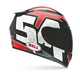 Red/Black/White RS-1 Corsa Helmet - Convertible To Snow