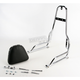 Sissy Bar w/ Studded Pad - 290-303