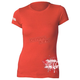 Womens Red Powderpuff T-Shirt