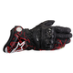 Black/Red GP Pro Leather Glove