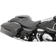 Black Pinstripe Low-Profile Solo Seat - 0801-0872