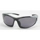 Silver Safety C-120 Sunglasses w/Smoke Lens - C-120SL/SM