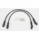 Triple Silicone XXX 8mm Spark Plug Wire Set - MC-SPW10