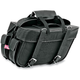 Plain Extra-Large Box-Style Detachable Slant Saddlebags - 9698P