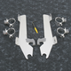 Batwing Polished Trigger Lock Hardware - 2321-0161