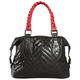 Black Feature Bowler Purse - 06692-001-NS