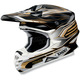 Black/Gold VFX-W Malice Helmet