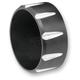 Black Billet Aluminum End Cap - BE25T