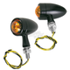 Midnight Black Bullet Market Lights - 219-1063