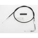 Alternative Length Black Vinyl Throttle Cable for Custom Height/Width Handlebars - 0650-1100