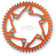 Orange Rear Aluminum Sprocket