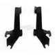 Black Batwing Plate-Only Hardware - MEK1854