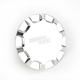 Chrome Vented Straight-Cut Gas Cap - 0703-0388