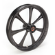 23 in. x 3.5 in. Diesel One-Piece Black Ops Aluminum Wheel for Models w/o ABS - 12027306RDIESMB