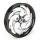 Front 23 in. x 3.75 Savage Eclipse One-Piece Forged Aluminum Wheel - 23375-9032A-85E