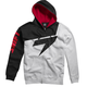 Red/White Replica Fleece Zip Hoody