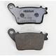 Rear Sintered Metal Brake Pads - VD174