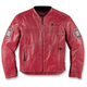 Red Chapter Leather Jacket