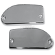 Chrome Front Smooth Master Cylinder Covers - BA-7629-00