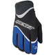 Crew Black/Blue Gloves