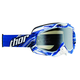 White/Blue Twist Ally Goggles - 2601-1725