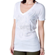 Womens White Suave T-Shirt