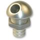 Polished 45 Degree Billet Bilge Fitting for 500 GPH Bilge Pump Systems - 5054