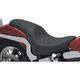 Predator Solo Seats w/Stitch Flame Design - 0802-0400
